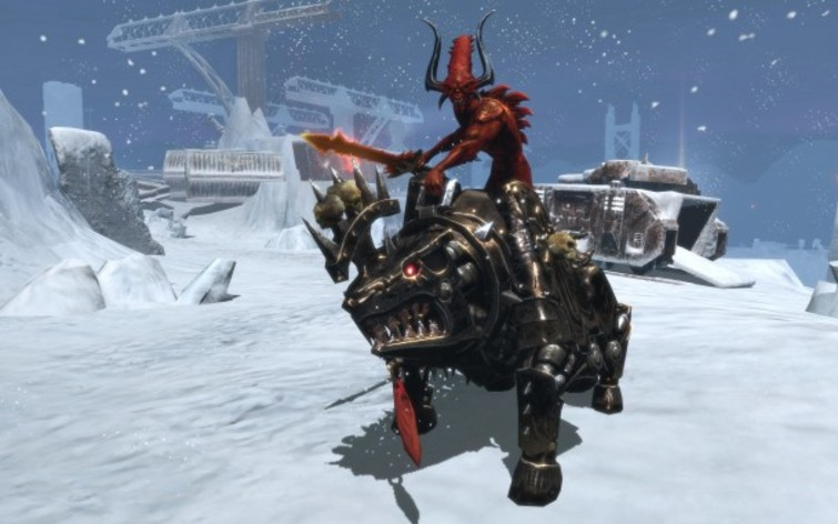 Screenshot 3 - Warhammer 40.000: Dawn of War II Chaos Rising