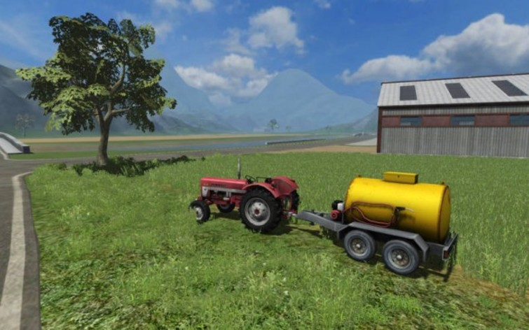 Screenshot 1 - Farming Simulator 2011 Official Addon