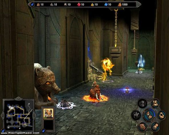 Screenshot 2 - Heroes of Might and Magic V: Hammers of Fate