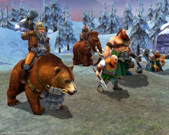 Screenshot 4 - Heroes of Might and Magic V: Hammers of Fate