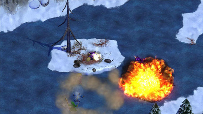 Screenshot 3 - Magicka: Frozen Lake