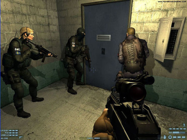 Screenshot 1 - Rainbow Six Lockdown