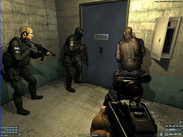 Screenshot 1 - Rainbow Six Lockdown