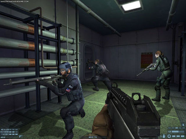 Screenshot 4 - Rainbow Six Lockdown