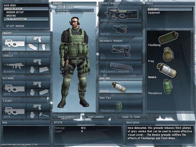 Screenshot 3 - Rainbow Six Lockdown