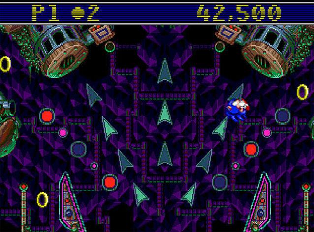 Screenshot 2 - Sonic Spinball