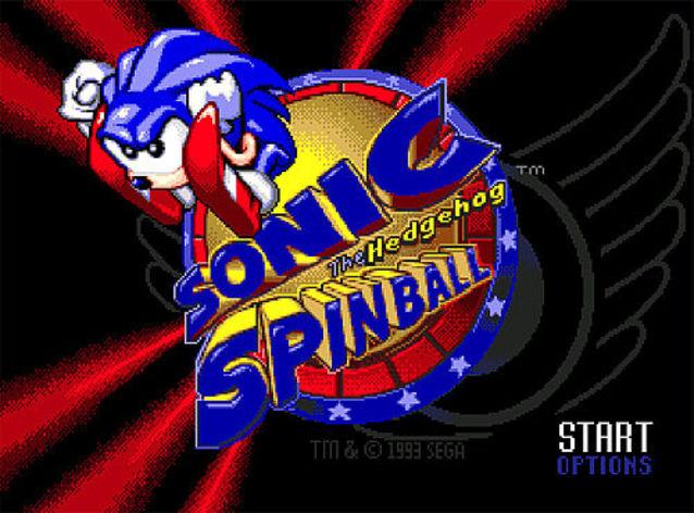 Screenshot 1 - Sonic Spinball