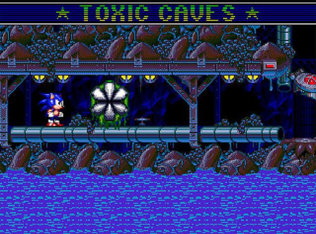 Screenshot 4 - Sonic Spinball