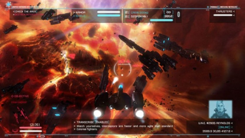 Screenshot 5 - Strike Suit Zero