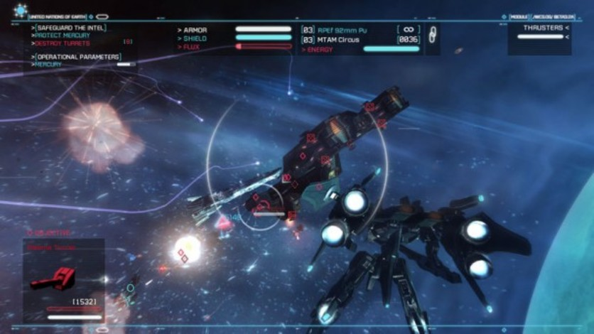Screenshot 3 - Strike Suit Zero