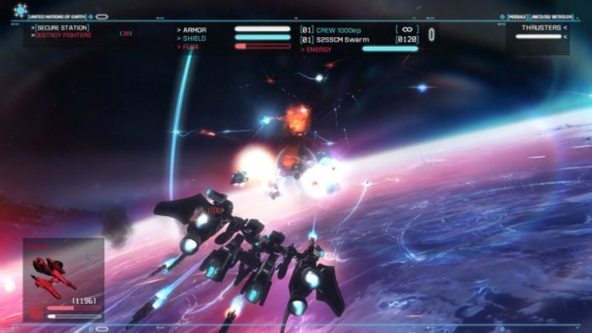 Screenshot 4 - Strike Suit Zero