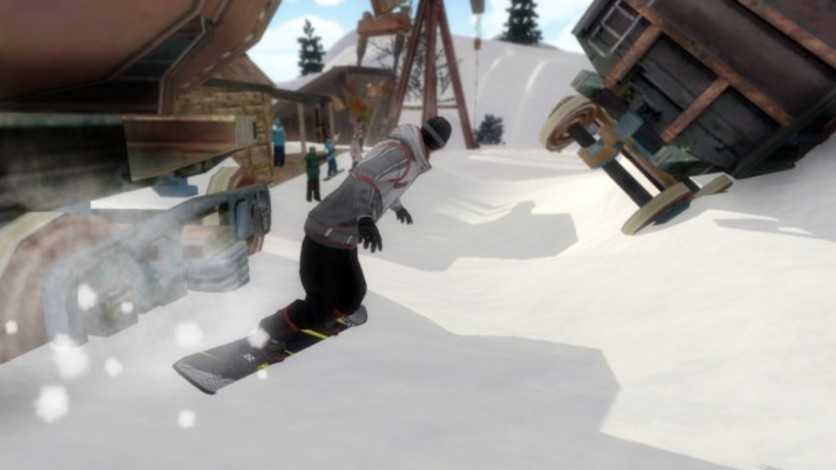 Screenshot 8 - Pro Riders Snowboard