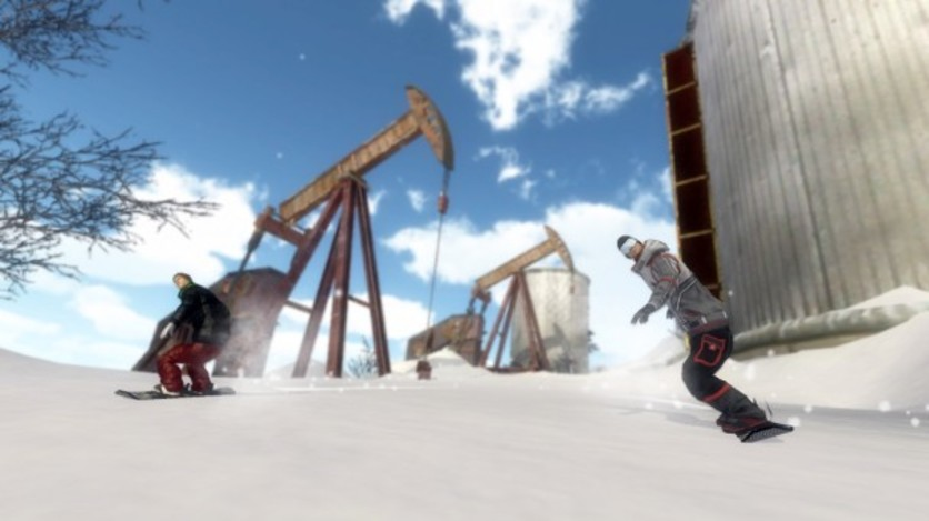 Screenshot 18 - Pro Riders Snowboard