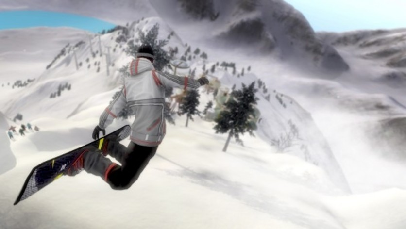 Screenshot 1 - Pro Riders Snowboard