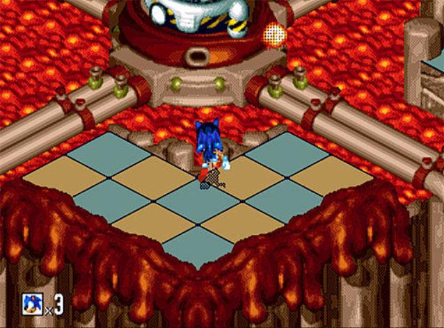 Screenshot 4 - Sonic 3D Blast