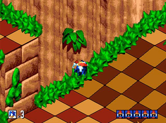 Screenshot 1 - Sonic 3D Blast