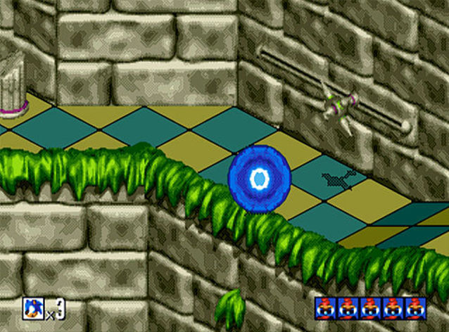 Screenshot 2 - Sonic 3D Blast