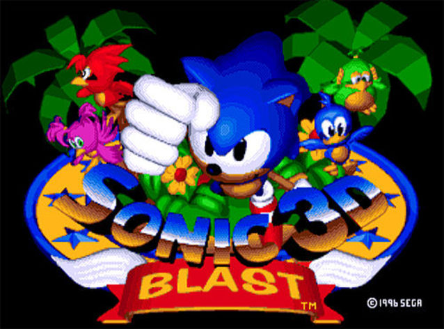 Screenshot 3 - Sonic 3D Blast