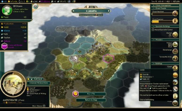 Screenshot 1 - Sid Meier's Civilization V: Brave New World