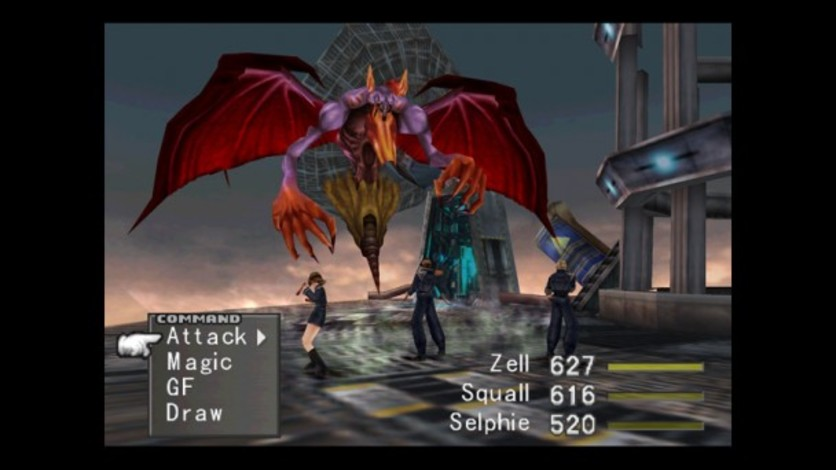 Screenshot 5 - FINAL FANTASY VIII