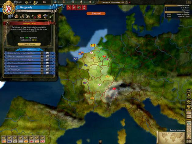 Screenshot 1 - Europa Universalis 3 Complete Edition