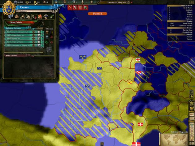 Screenshot 2 - Europa Universalis 3 Complete Edition