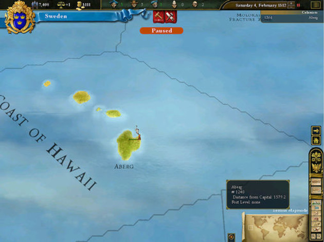 Screenshot 5 - Europa Universalis 3 Complete Edition