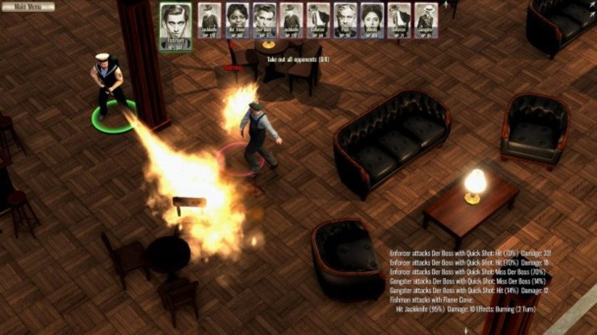 Screenshot 2 - Omerta - City of Gangsters: The Japanese Incentive