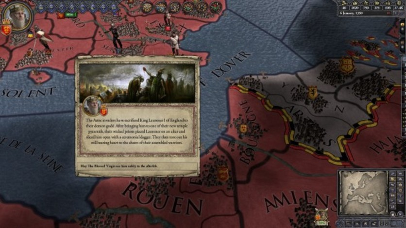 Screenshot 1 - Crusader Kings II: Sunset Invasion