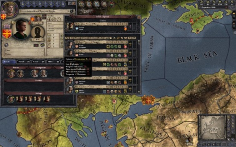 Screenshot 3 - Crusader Kings II: Songs of the Holy Land
