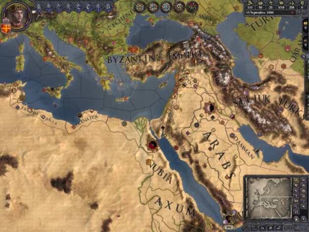 Screenshot 1 - Crusader Kings II: Songs of the Holy Land