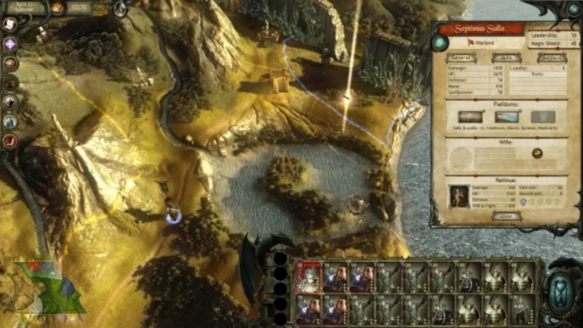 Screenshot 2 - King Arthur II: Dead Legions