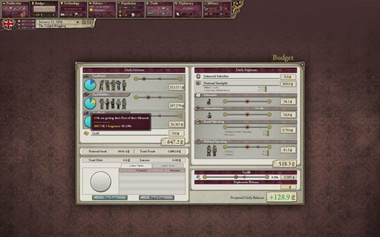 Screenshot 5 - Victoria II