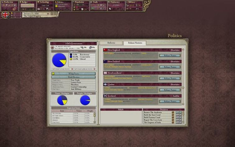 Screenshot 9 - Victoria II