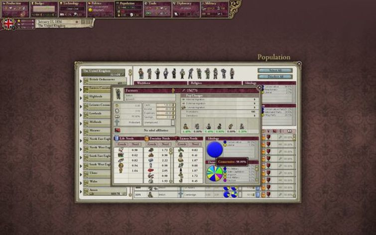 Screenshot 2 - Victoria II