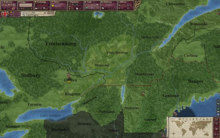 Screenshot 7 - Victoria II