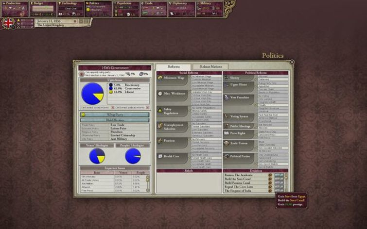 Screenshot 10 - Victoria II