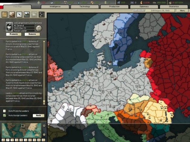 Screenshot 2 - Hearts of Iron 2 Collection