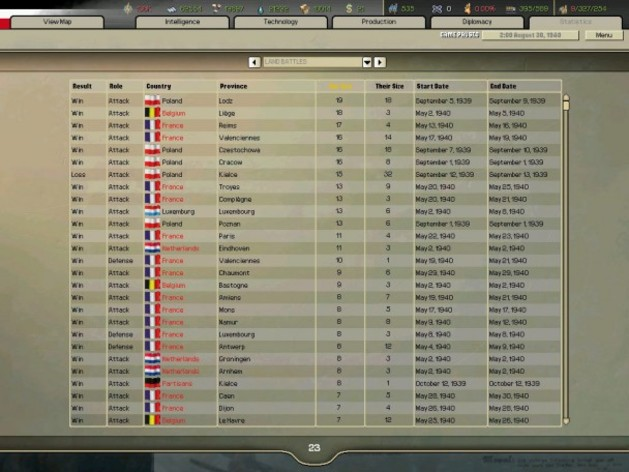 Screenshot 5 - Hearts of Iron 2 Collection