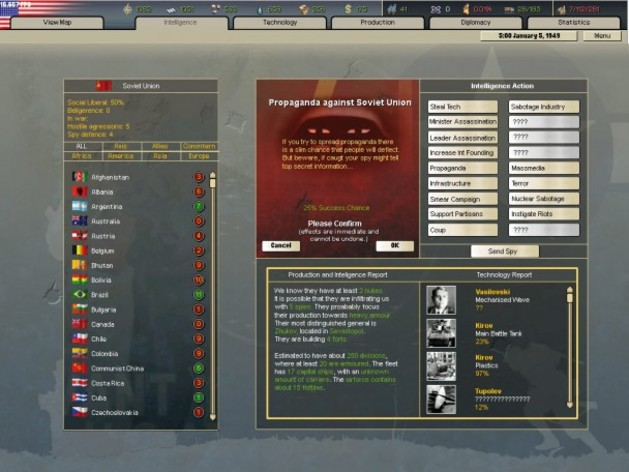 Screenshot 3 - Hearts of Iron 2 Collection