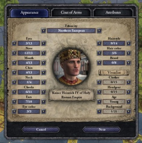 Screenshot 5 - Crusader Kings II: Ruler Designer