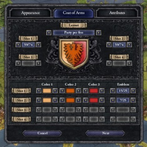 Screenshot 2 - Crusader Kings II: Ruler Designer
