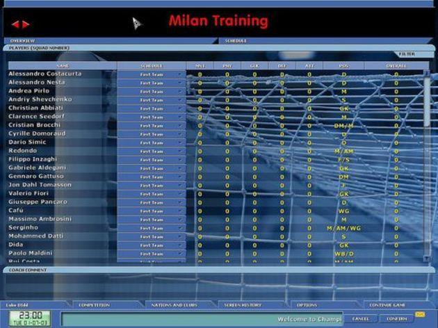 Screenshot 3 - Championship Manager 5
