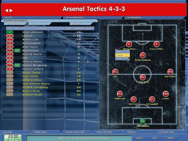 Screenshot 7 - Championship Manager 5