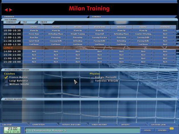 Screenshot 6 - Championship Manager 5