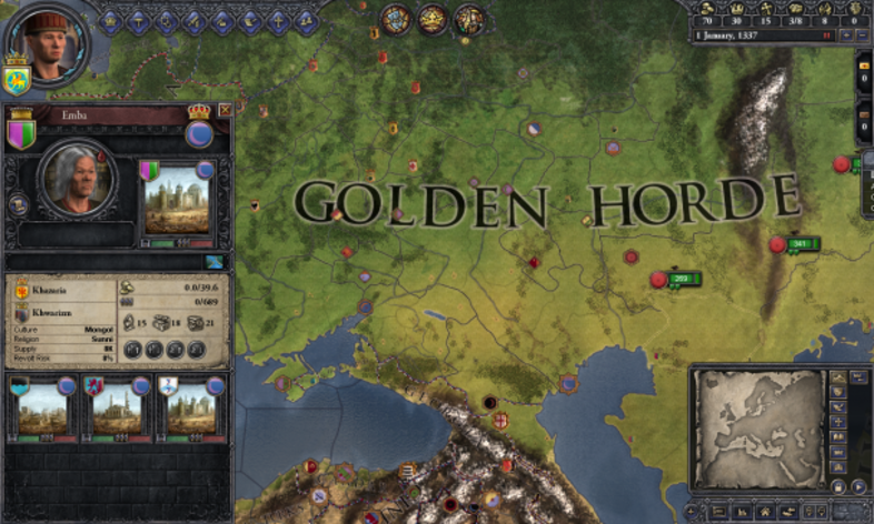 Screenshot 4 - Crusader Kings II: Mongol Faces