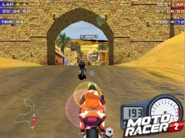 Screenshot 2 - Moto Racer Collection