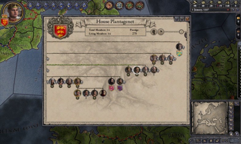 Screenshot 4 - Crusader Kings II: Dynasty Shield