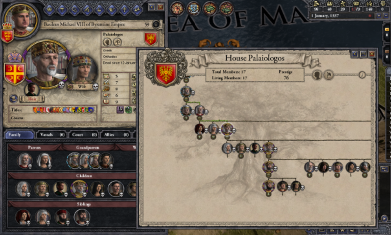 Screenshot 1 - Crusader Kings II: Dynasty Shield