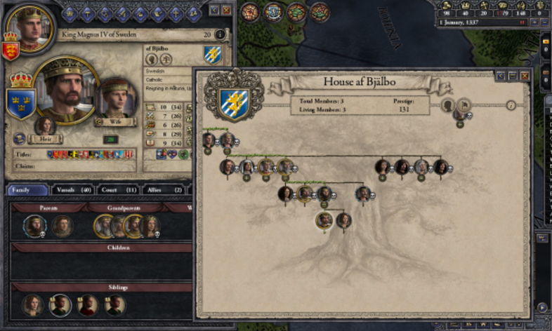 Screenshot 3 - Crusader Kings II: Dynasty Shield